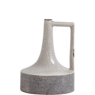 Mercana Burton (Short) Grey Ceramic Vase