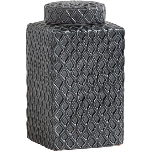 Mercana Conventry II (Tall) Grey Ceramic Vase