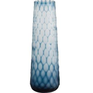Mercana Gordal I (Large) Blue Glass Vase