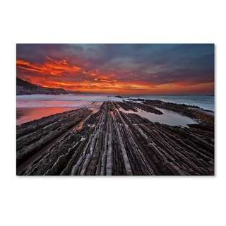 Mikel Lastra 'Highway To Hell' Canvas Art