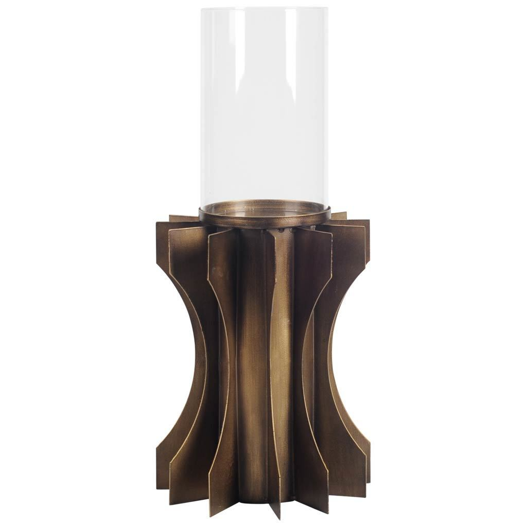Mercana Atoll II Bronze Metal Candle Holder (Candle Holder)