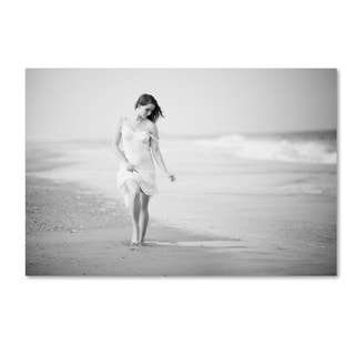 JAE 'A Walk On The Beach' Canvas Art