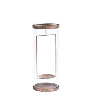 Mercana McClure (Small) Bronze Metal Candle Holder