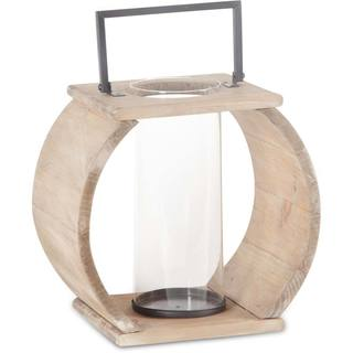 Mercana Brighton (Large) Natural Wood Candle Holder