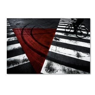 Kouji Tomihisa 'Crossing' Canvas Art