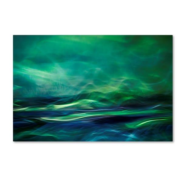 Shop Willy Marthinussen 'Northern Lights' Canvas Art