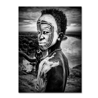Joxe Inazio Kuesta 'A Boy Of The Karo Tribe' Canvas Art