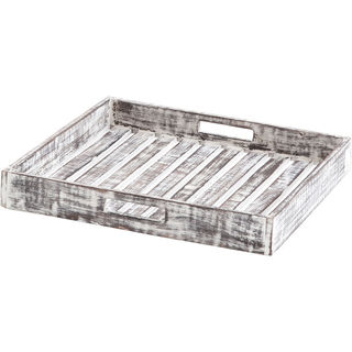 Mercana Axiculus White Wood Tray