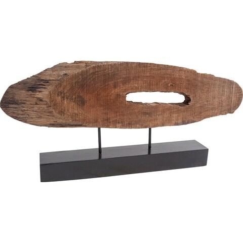 Mercana Yeadon I Brown Wood Accent Piece