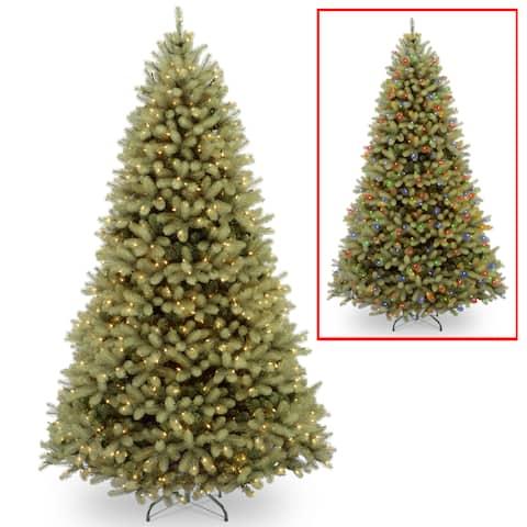 9 ft. Downswept Douglas Fir Tree with Dual Color® LED Lights