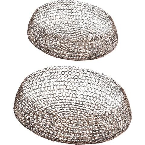 Mercana Filum (Set of 2) Bronze Metal Basket