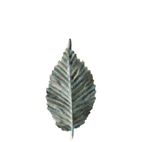 Mercana Mercana Brattea (Small) Green Metal Leaf Accent Piece