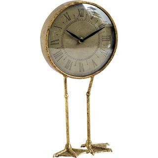 Mercana Chadwick Gold Clock