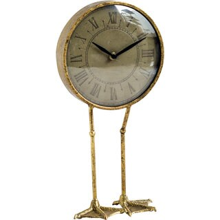 Mercana Chadwick Gold Clock