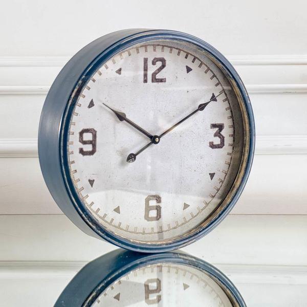 Mercana Hereward Blue Clock