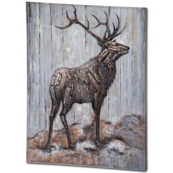 Mercana Follow Me Brown Wood Wall Art