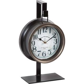 Mercana Taxz Black Metal Clock