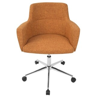 Carson Carrington Duved Contemporary Fabric Office Chair