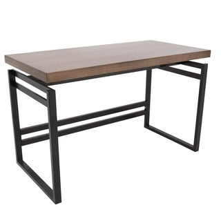 Drift Industrial Black Walnut 48-inch Desk
