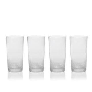 """Vitorrio"" Frosted Highball Glass (Set of 4)"