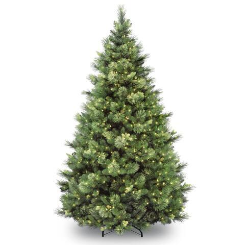 9 ft. Carolina Pine Tree with Clear Lights
