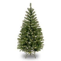 4 ft. Aspen Spruce Tree with Clear Lights