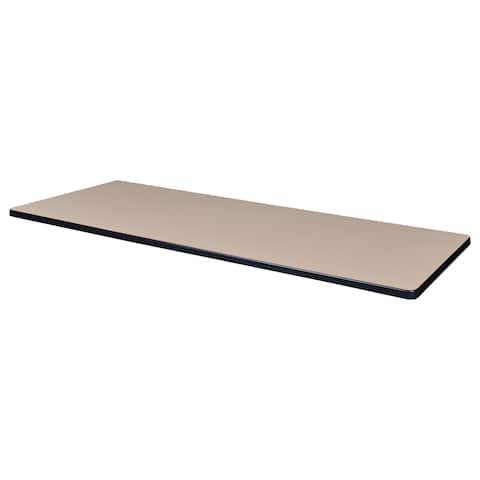 "72"" x 24"" Rectangle Laminate Table Top"