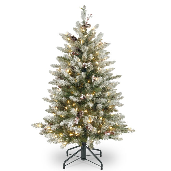 Shop 4.5 ft. Dunhill(R) Fir Tree with Clear Lights - On ...