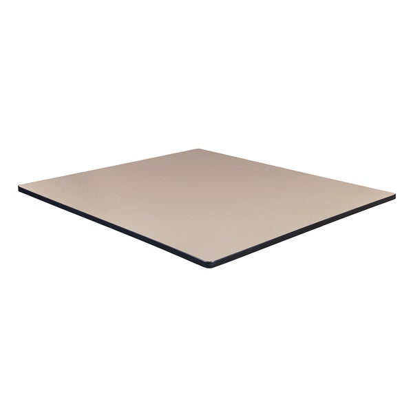 Regency Wood Laminate 48-inch Square Table Top
