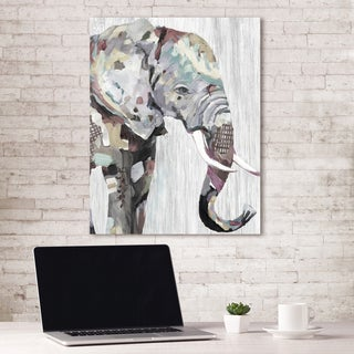 Portfolio Canvas Decor WILDlife Elephant Soft Crop by Frank Parson Wrapped Canvas Wall Art