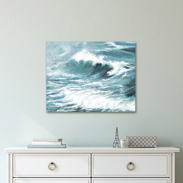 Portfolio Canvas Decor Wavelength Light by Sandy Doonan Wrapped Canvas Wall Art