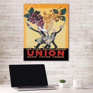 Portfolio Canvas Decor Union by Vintage Ad Wrapped Canvas Wall Art
