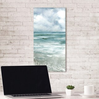 Portfolio Canvas Decor Silent Shore Soft Vertical Panel by Sandy Doonan Wrapped Canvas Wall Art