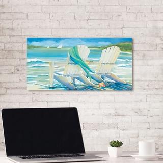 Portfolio Canvas Decor Seaside Breeze by Kathleen Denis Wrapped Canvas Wall Art