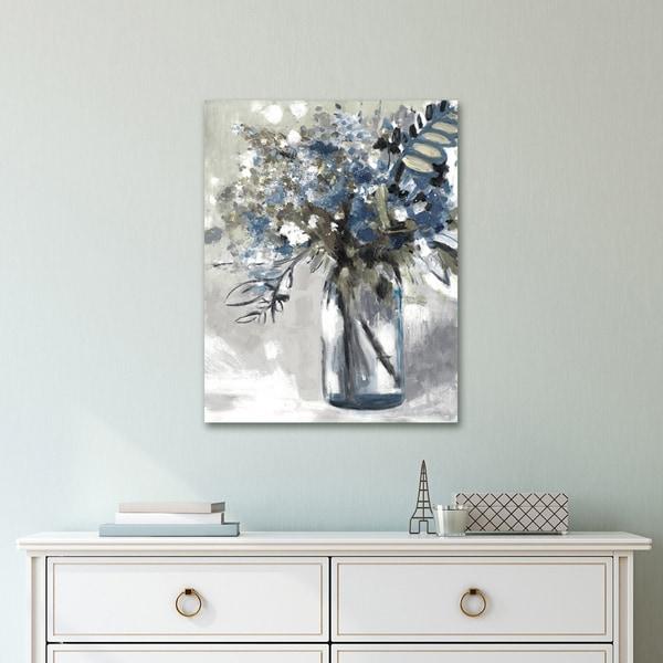 Portfolio Canvas Decor Maison Jardin I Soft by Emily Williams Wrapped Canvas Wall Art
