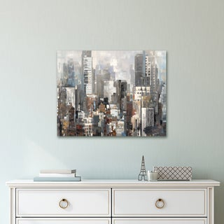 Portfolio Canvas Decor City Silhouettes II by Emily Williams Wrapped Canvas Wall Art