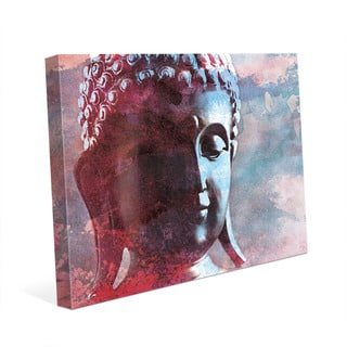 Cerulean Buddha Abstract Wall Art Print on Canvas