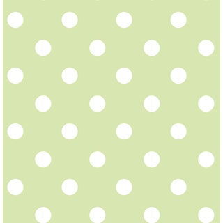 Green Dottie Peel & Stick Wallpaper