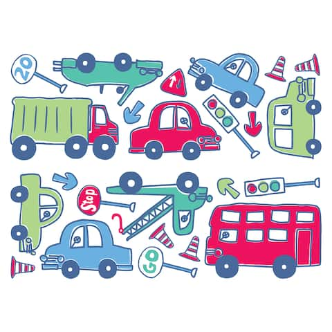 Beep Beep Wall Stickers