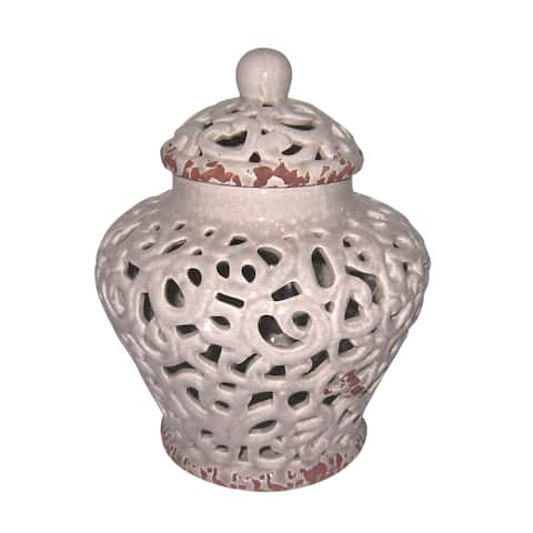 "9""Raymond Ceramic jar"