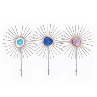 Flower Shape Hook Wall Hanger Holder for Coat Kitchen Bathroom Accessories
