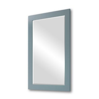 Contemperary Style 22-inch wide Rectangular Wall Mirror