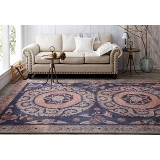 Mohawk Home Studio Suzani Tapestry Area Rug by Patina Vie (8'x10')