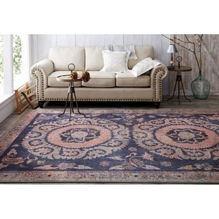 Mohawk Home Studio Suzani Tapertry Area Rug by Patina Vie (5'3x7'10)
