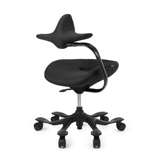 Wooridul Aero7 Ergo Task chair with reversible backrest and chest rest