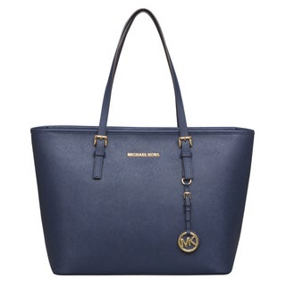 Michael Kors Jet Set Travel Top Zip Tote Bag