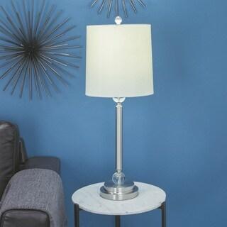 Urban Designs Wynn Metal And Crystal 33-inch Buffet Lamp (Set of 2)
