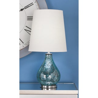 Urban Designs Artistic Mosaic Glass 26-inch Table Lamp (Set of 2)
