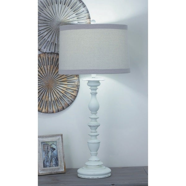 Urban Designs White Baluster Table Lamp