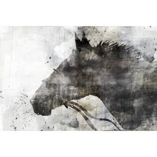 Horse Grey canvas art canvas print 24X36